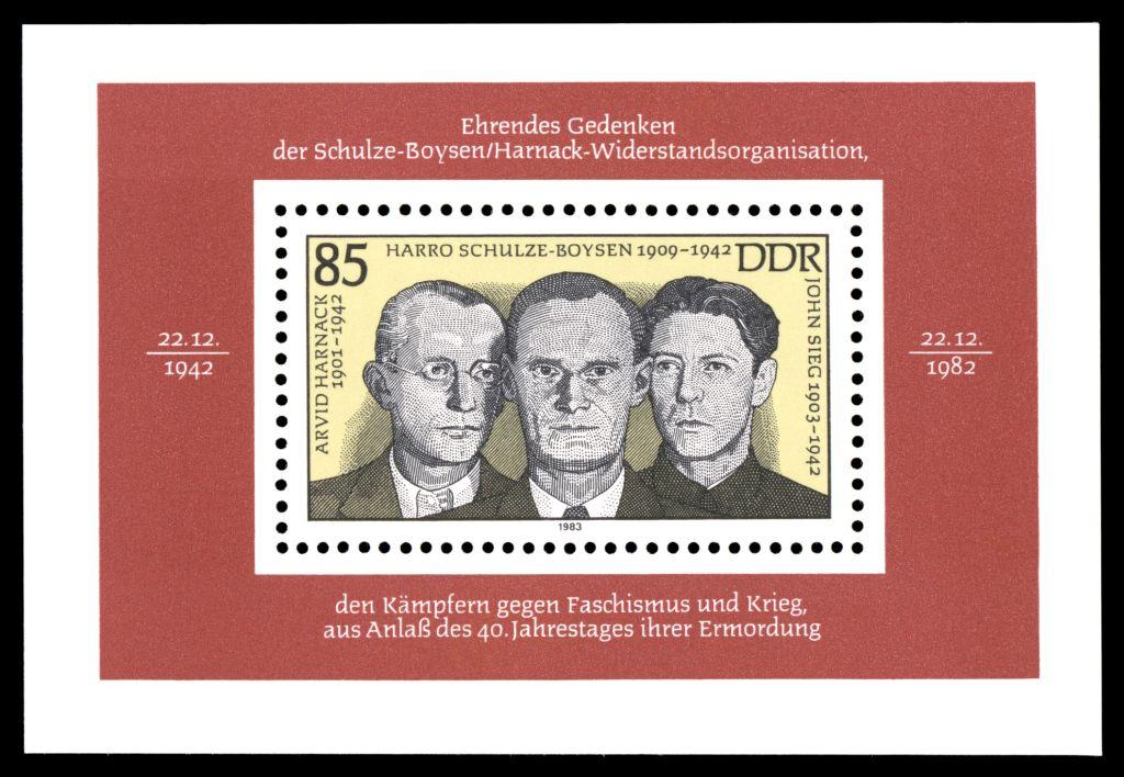 Harro-Schulze-Boysen-Gedenkmarke