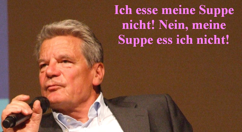 GauckKeineSuppe