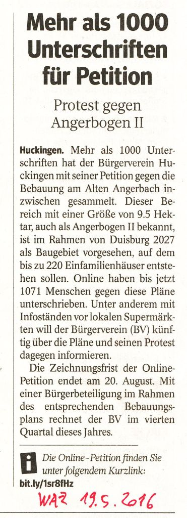 PetitionAngerbogen