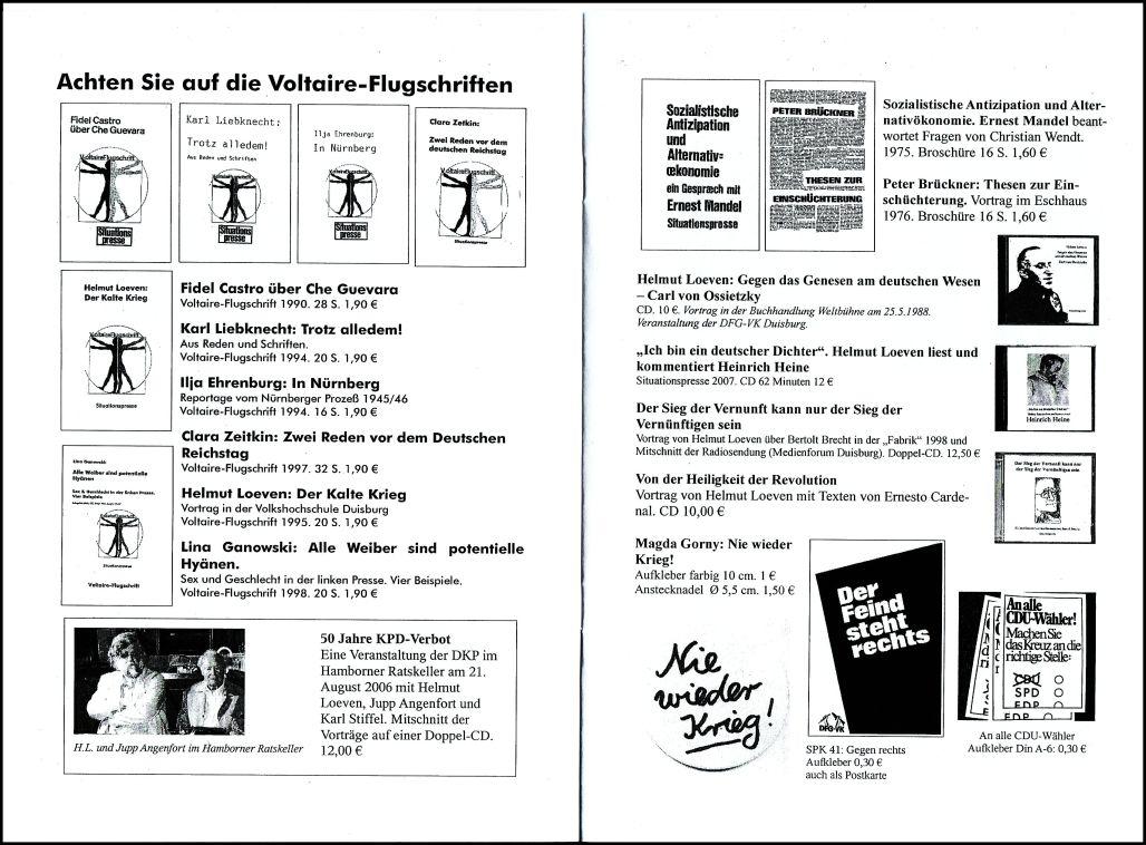 Ein neuer katalog amore e rabbia for Neuer weltbild katalog