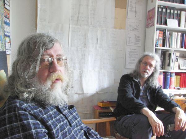 H.L. (links) und Pelikan. Foto: Hafenstaedter