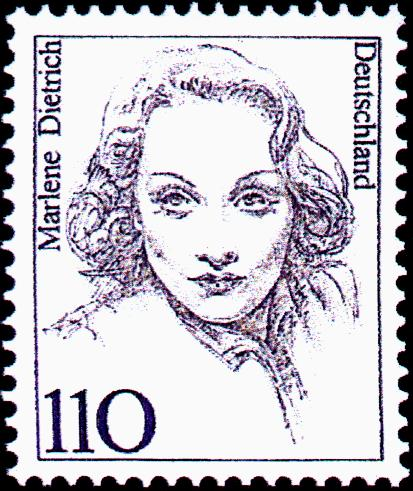German_stamp-_Marlene_Dietrich
