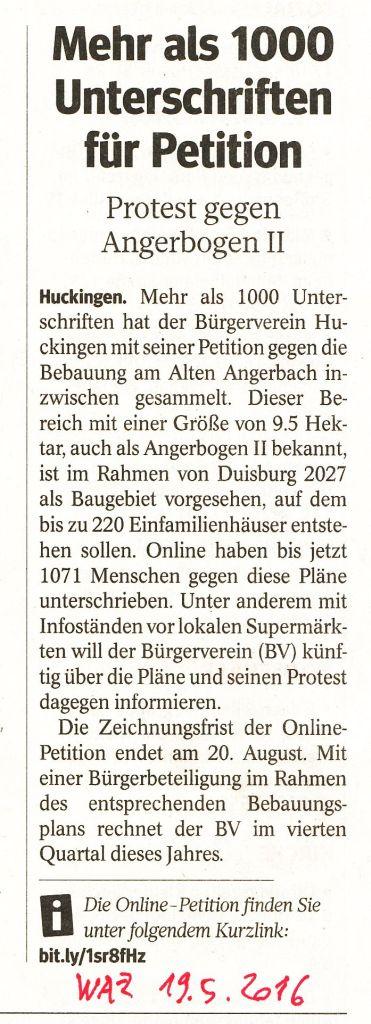PetitionAngerbogen